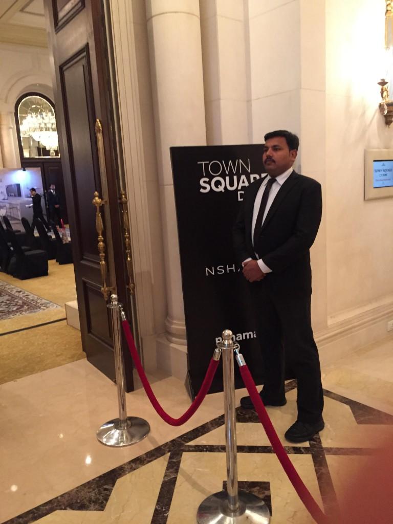 Bouncer for prestegious event in Central Delhi 5 star Hotel Leela