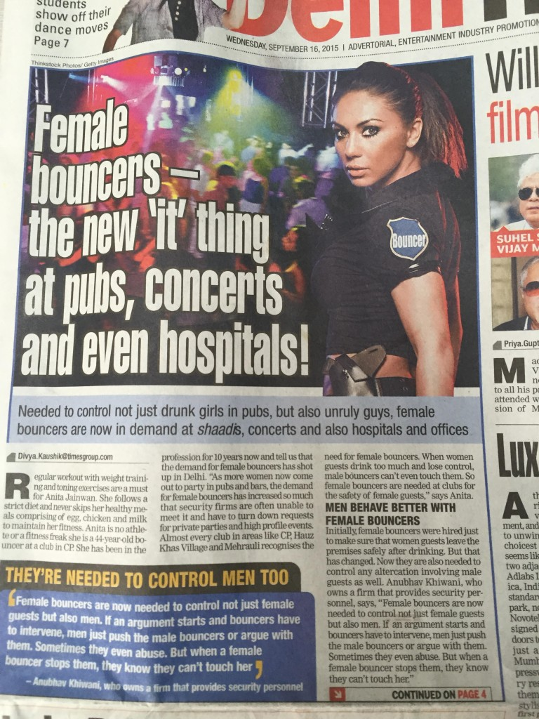 Female Bouncers India