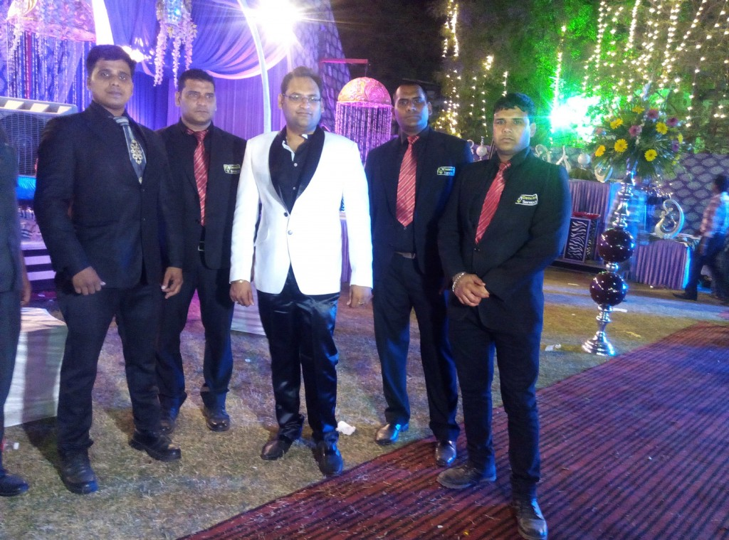 Bouncer for hire marriage