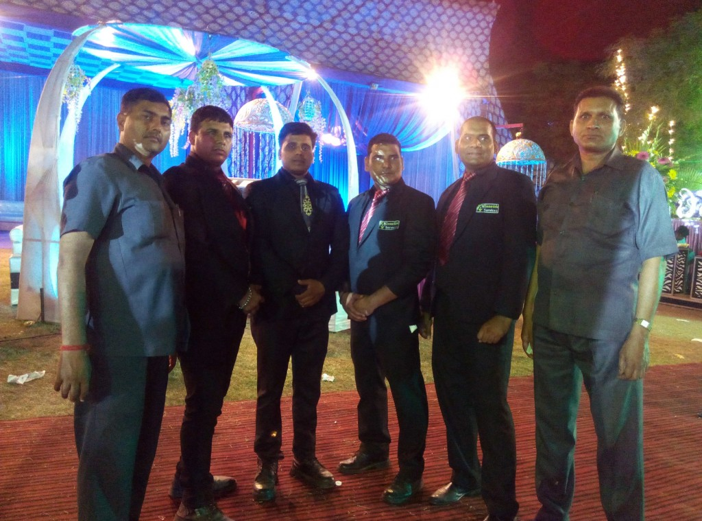 Protection of Family bodyguards event