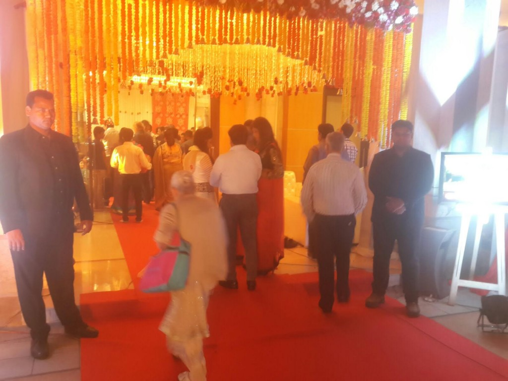 Bouncers at Jagran in Delhi NCR
