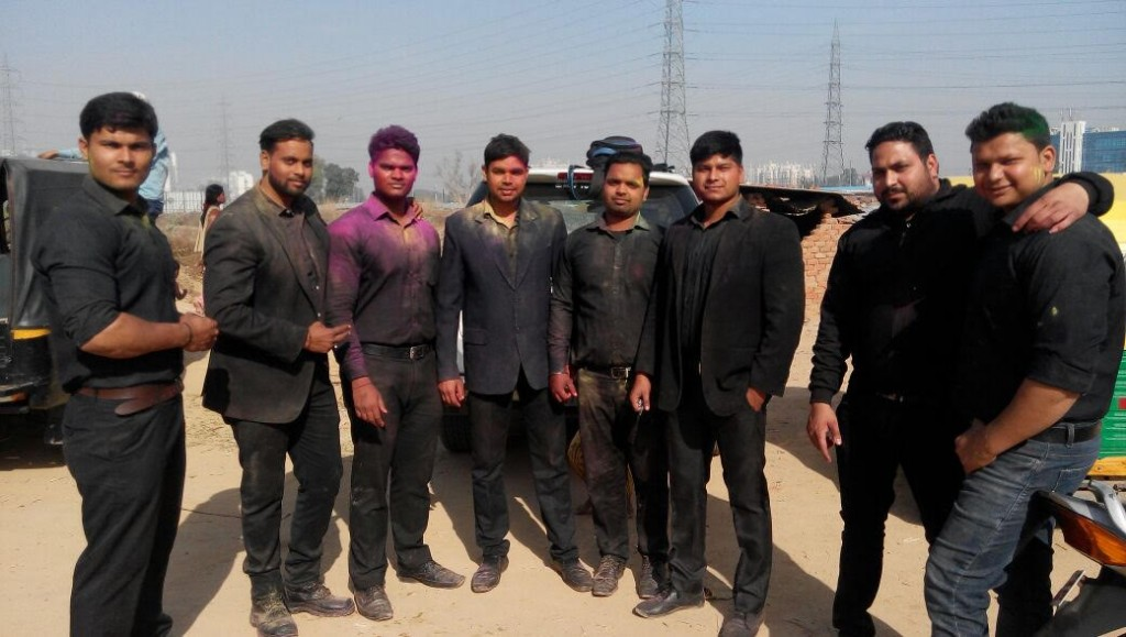 Bouncers at event on Holi Delhi NCR