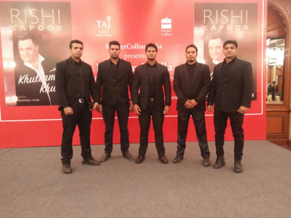 Bodyguard Bouncer Team for Celebrity protection Delhi