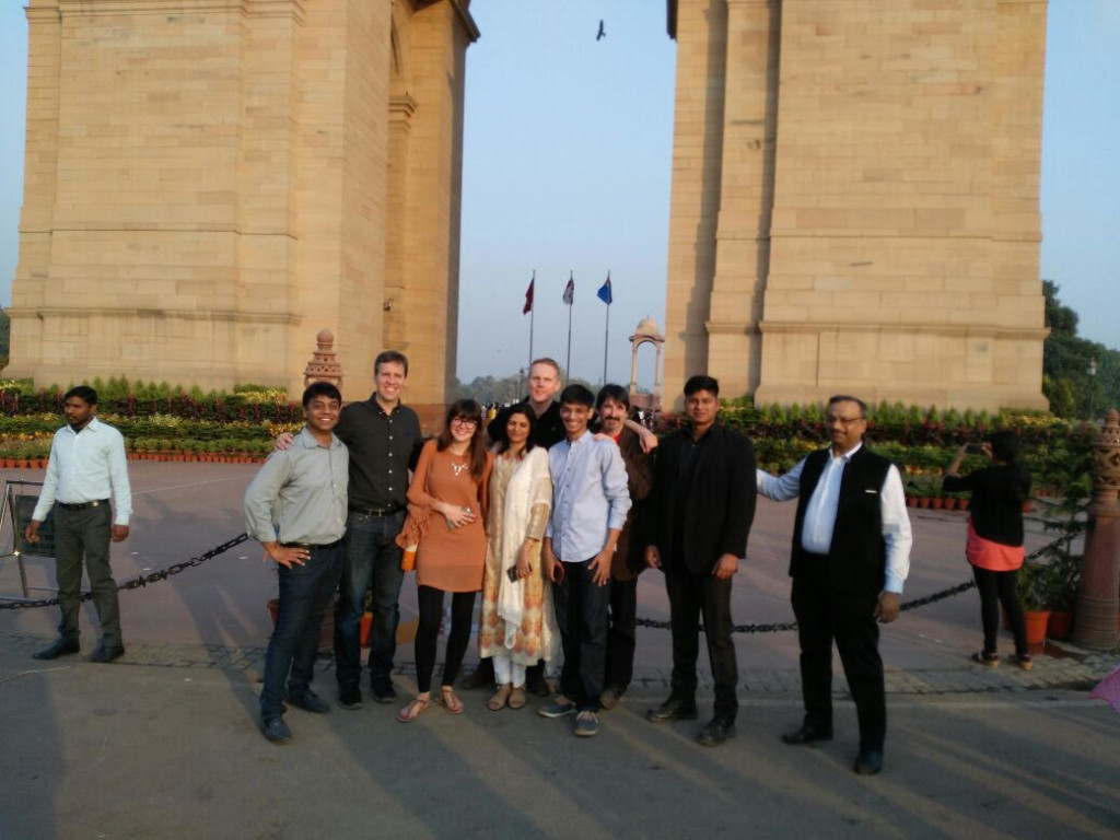 jeff-kinney-visit-india-with-denetim-bodyguards