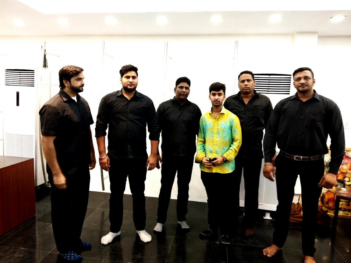 Bodyguard Bouncers For Inauguration Of New Market Store In