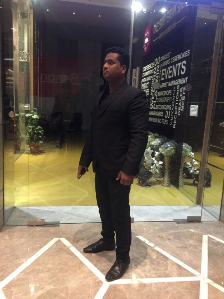 Celebrity Event Security Bouncer