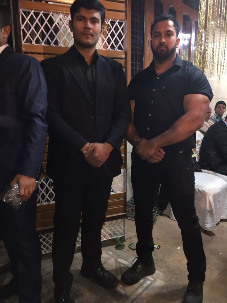 Marriage event security bouncers gurugram haryana
