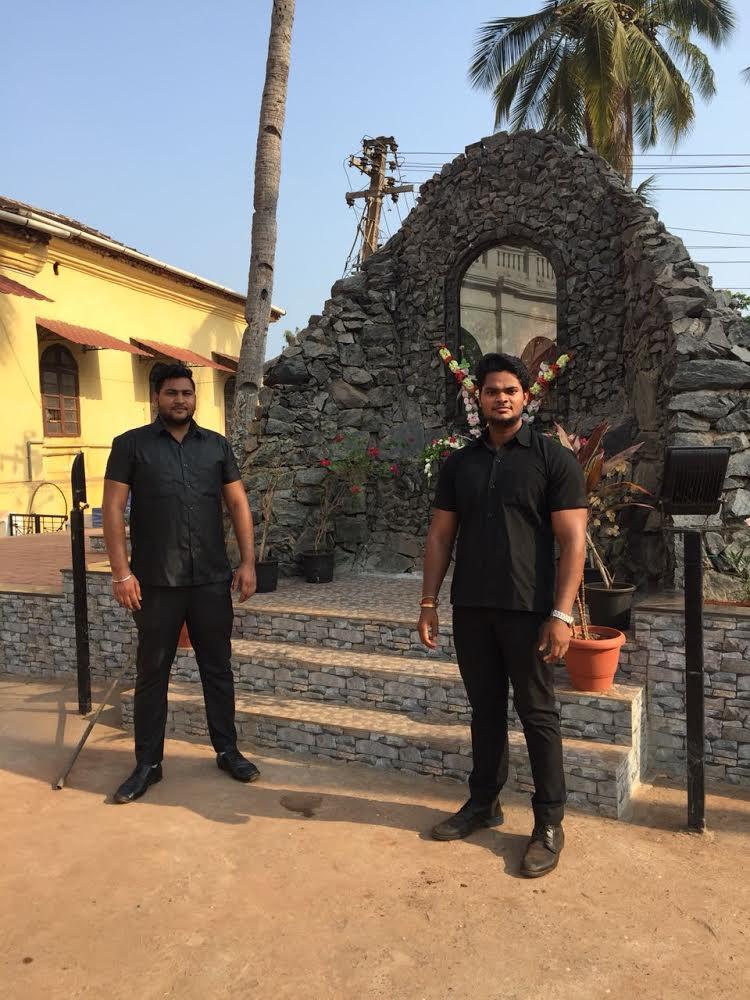 Bodyguards in Goa