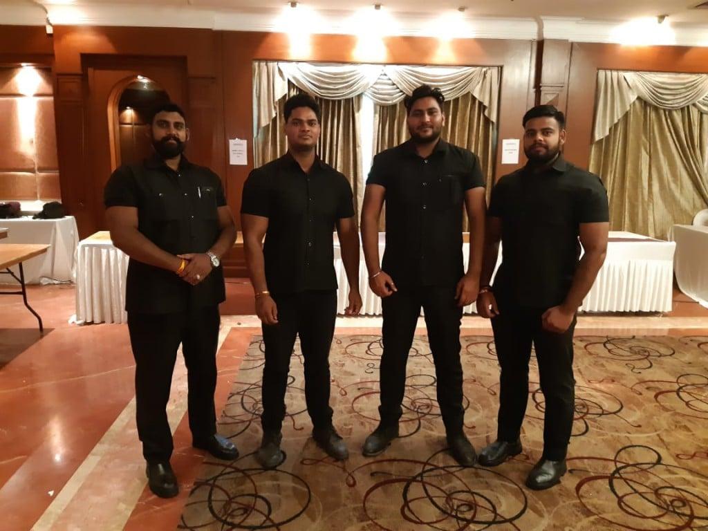 Bodyguard Bouncer team event security