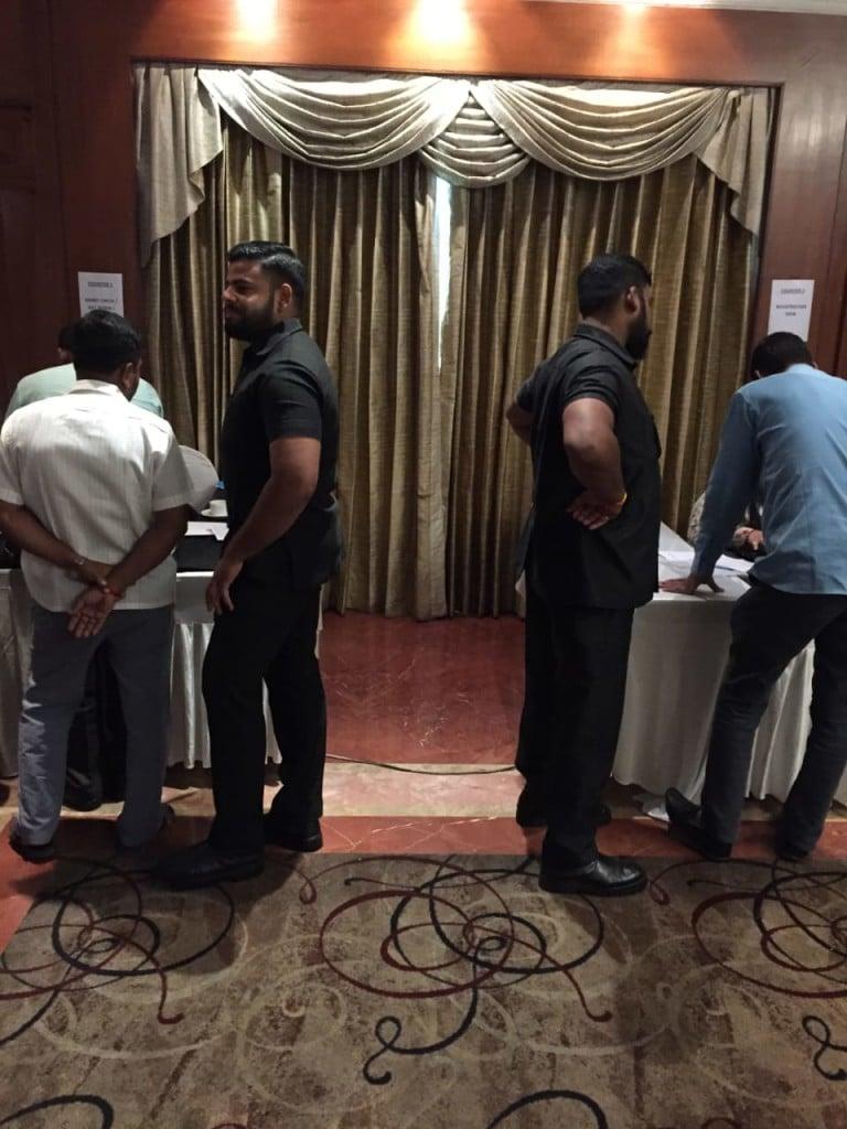 Bodyguard hire corporate event